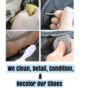 We Don't Just Sell Used Shoes, We Renew Them